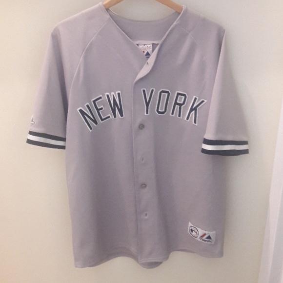 detailed look 09c3e 7ff14 Men's New York Yankees Jersey Bernie Williams